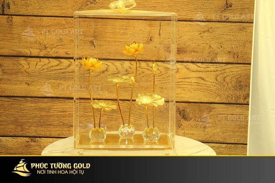 Hoa Sen dát vàng mẫu 02