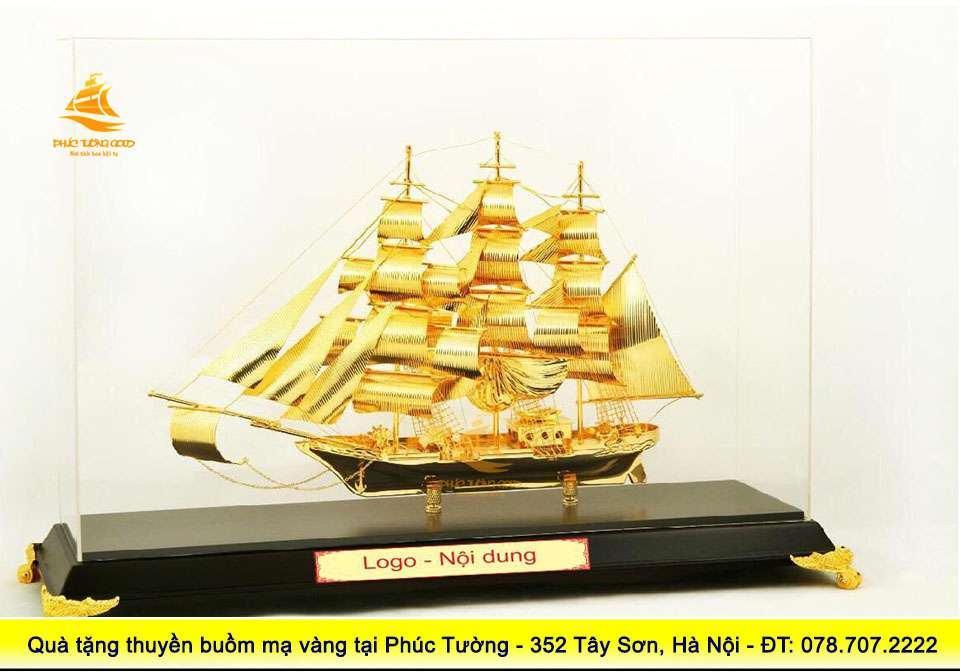 Mô hình thyền buồm phong thủy để bàn làm việc