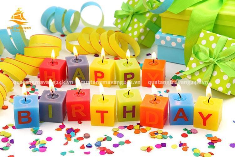 Những món quà sinh nhật đẹp nhất và ý nghĩa - Quà tặng mạ vàng 24k