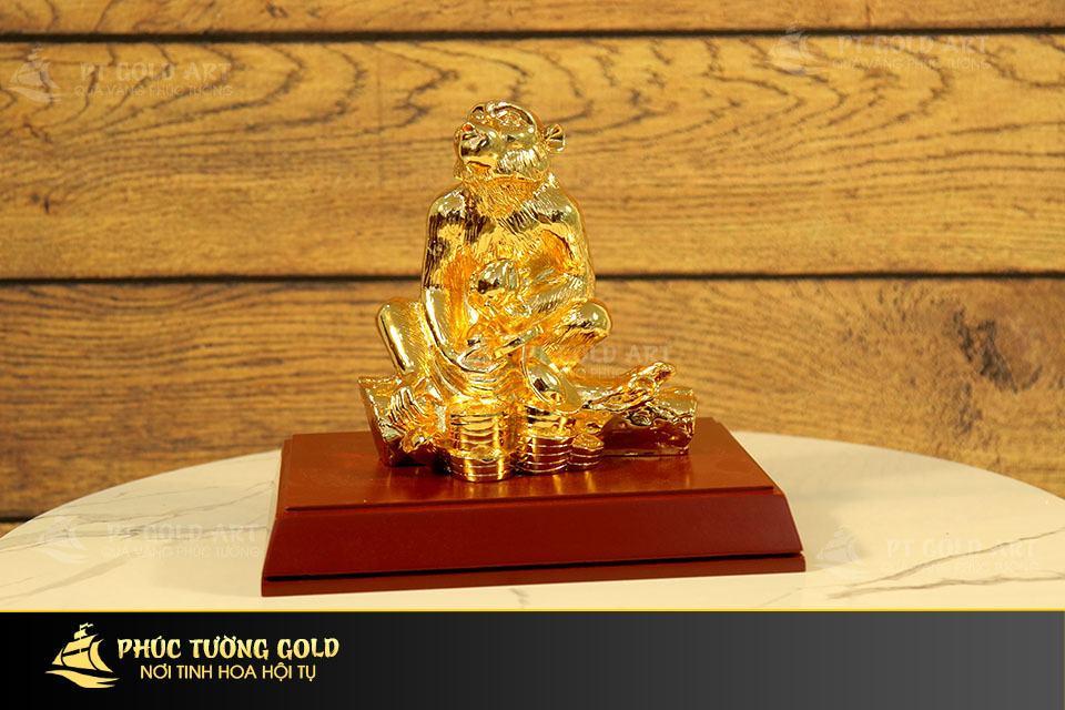 Ý nghĩa tượng Khỉ mạ vàng