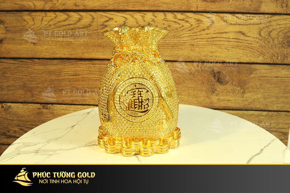 Túi tiền mạ vàng