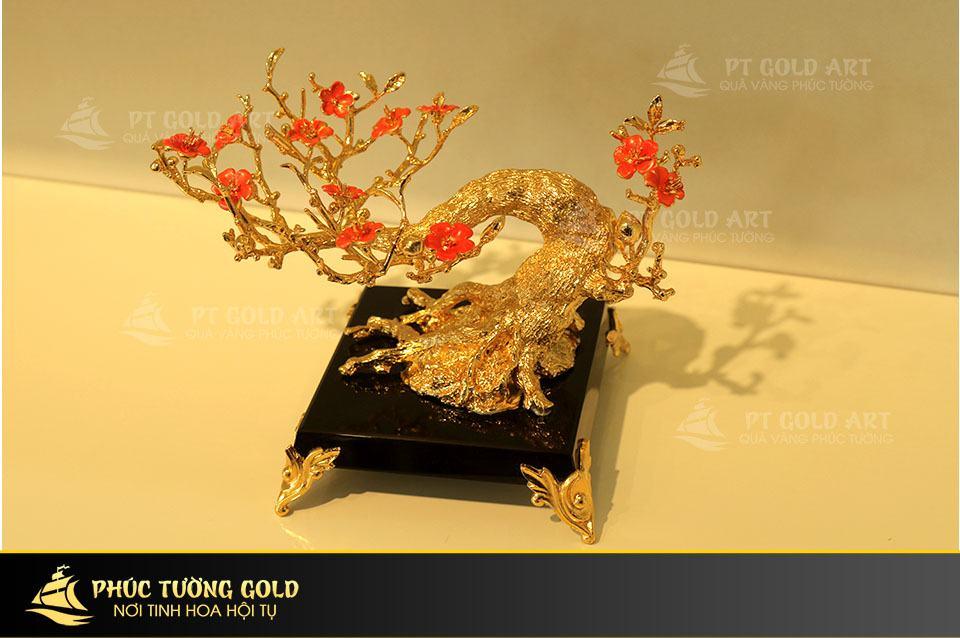 cây hoa đào bonsai
